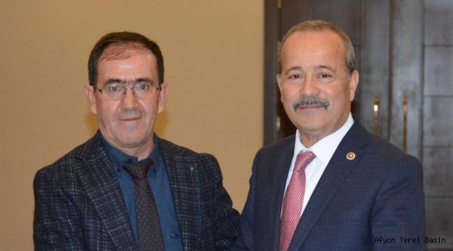 Başkan Yakan'dan Milletvekili Taytak'a teşekkür