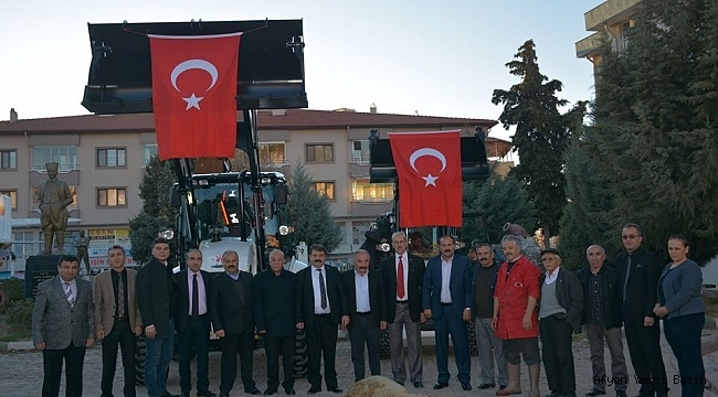 Dinar Belediyesine 2 Adet Kepçe Kazandırıldı
