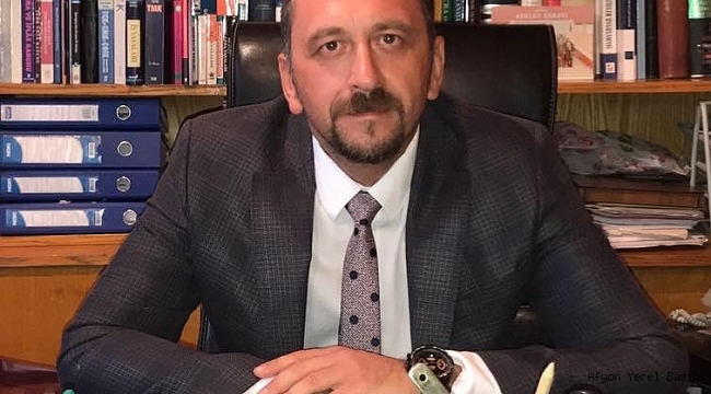Dinar CHP İlçe Başkanlığını Kazanan Arıkan'dan Teşekkür Mesajı
