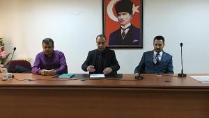 Dinar'da SYDV Mütevelli Heyeti Seçimi Yapıldı