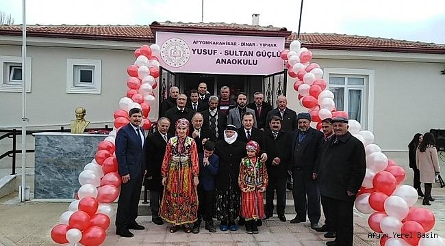 Dinar Yıprak Köyü Anaokulu Açılış Töreni