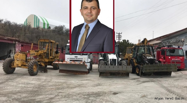 Emirdağ Belediyesi kışa hazır..