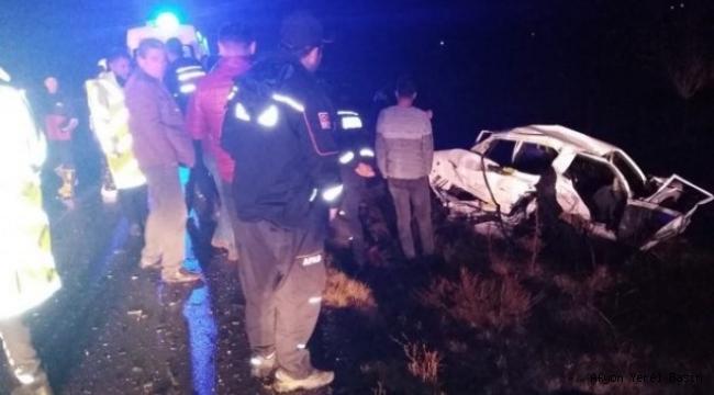 Emirdağ'da Trafik Kazası: 4 Ölü