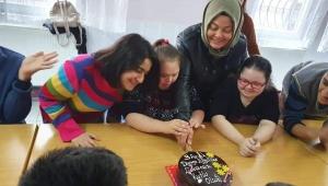 Engelli öğrencilere anlamlı ziyaret