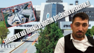 ERENELER'DE AKÜ ÖĞRENCİ VE ÖĞRETİM ÜYELERİNDEN OPERASYON..!!