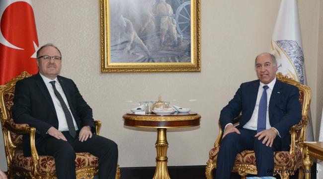 Irak Büyükelçisinden Vali Tutulmaz'a Ziyaret