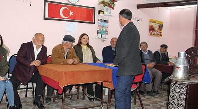 Milletvekili Köksal Yıprak'ta Vatandaşlarla Buluştu