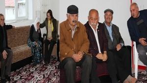 Milletvekili Köksal, Yıpraklı Şehit Ailesini Ziyaret Etti