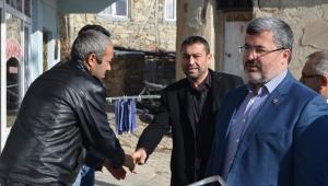 Milletvekili Özkaya Büyükkalecik beldesini ziyaret etti