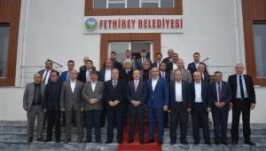Milletvekili Taytak,18 Belediye Başkanı ile bir araya geldi