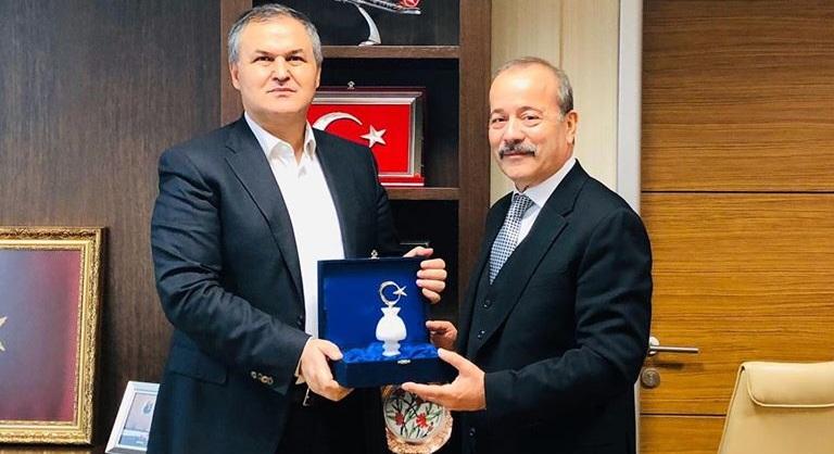 Milletvekili Taytak, Genel Müdür Ecel'i ziyaret etti