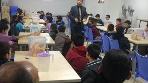 Müftü vekili Gündoğan Santral Kuran Kursunda Öğrenciler ile buluştu