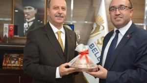 Sandıklı Belediye Başkanından Başkan Bozkurt'a Ziyaret