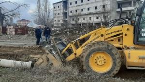 Sinanpaşa'da hummalı çalışma devam ediyor