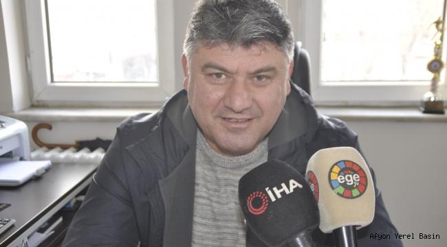 Şuhut Belediye Hisarspor'da Başkan Abdullah Zeybek Seçildi
