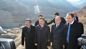 Tarım ve Orman Bakanı Dr. Bekir Pakdemirli Çay Barajını İnceledi