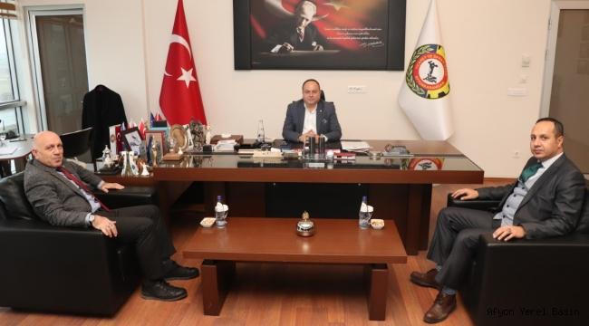 VAKIFLAR BÖLGE MÜDÜRÜ AYDIN'DAN SERTESER'E ZİYARET