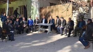 Vali Tutulmaz Dazkırı ilçesi Köylerini Ziyaret Etti