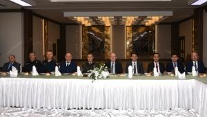 Vali Tutulmaz İl İdare Şube Başkanları Toplantısına katıldı