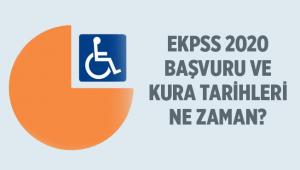 2020 EKPS Kura ve Sınav Başvuru ve Takvimi Hakkında Bilgilendirme..