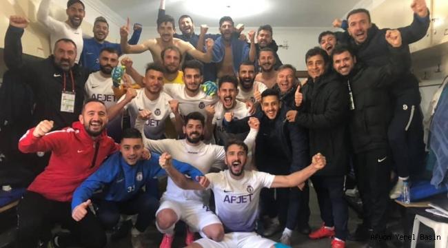 Afjet Afyonspor, deplasmanda Hacettepespor'u 1-0 mağlup etti