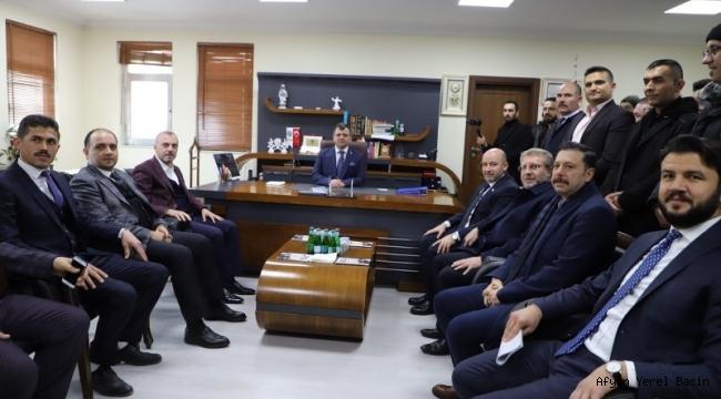 """""""AK Parti ilçe teşkilatlarımız aktif ve diri"""""""
