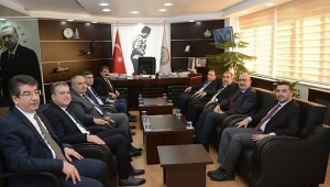 AKÜ Rektörü Prof. Dr. Mehmet Karakaş Dinar da