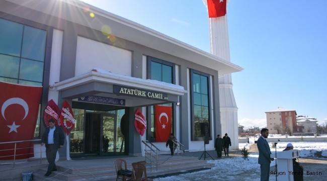 Atatürk Camii Dualarla Açıldı