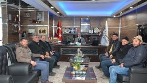 Başkan Bozkurt Pazarcı Esnaflarıyla Görüştü