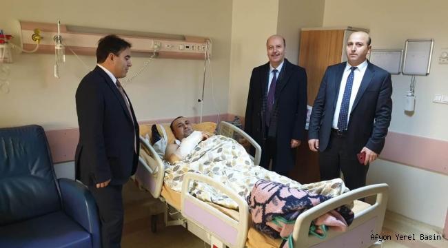 Başkan Bozkurt'tan Şuhutlu Hastalara Moral Ziyareti