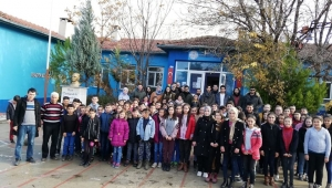 Bilecik Şeyh Edebali Üniversitesi Öğrencilerinden Afyon'a Kütüphane..