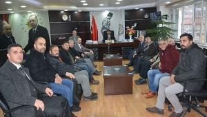 CHP Dinar İlçe Örgütünden Başkan Nihat Sarı'ya Ziyaret