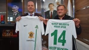 Çubukçuoğlu Deri'den Belediye Hisarspor'a Forma Sponsorluğu