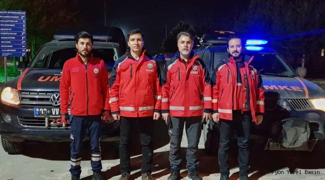 Deprem Bölgesine Afyon'dan da Sağlık Ekipleri Gitti