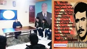 Dinar'da Ülkücü Şehidimiz Ruhi Kılıçkıran için Yasin-i Şerif Okutuldu