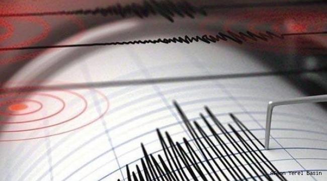 Elazığ'da 6.8 büyüklüğünde deprem meydana geldi.
