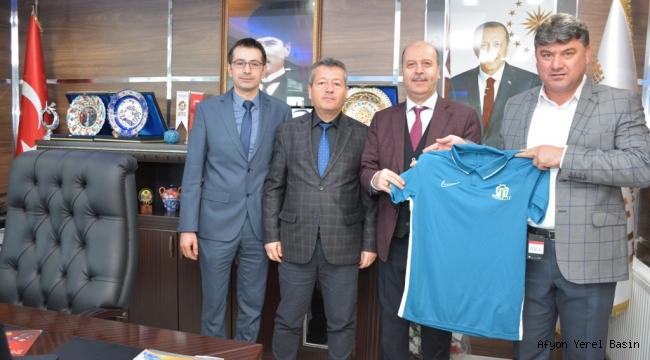 Hisarspor Yönetiminden Başkan Bozkurt'a Ziyaret