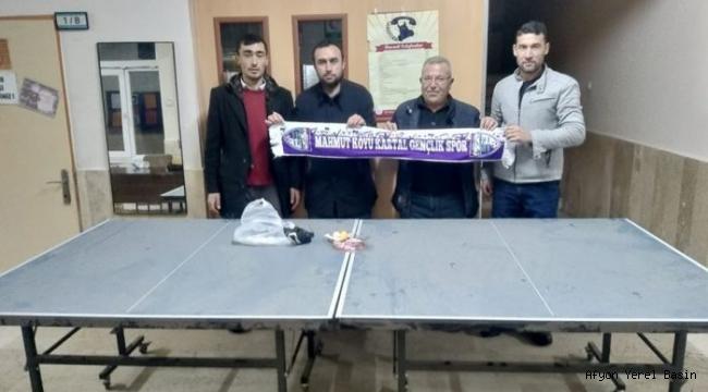 Mahmut Köyü Kartalspor'dan Öğrencilere Masa Tenisi