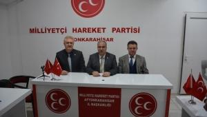 MHP İl Başkanı Mehmet Kocacan gündemi değerlendirdi..
