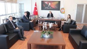 QNB FİNANSBANK'TAN SERTESER'E ZİYARET