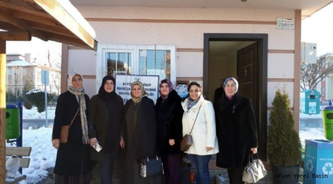 SEVİM ZEYBEK'TEN MAHALLE MUHTARLARINA ZİYARET