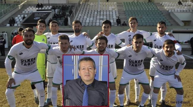 Şuhut Belediye Hisarspor'dan Hakem İbrahim Özkara'ya Veryansın..