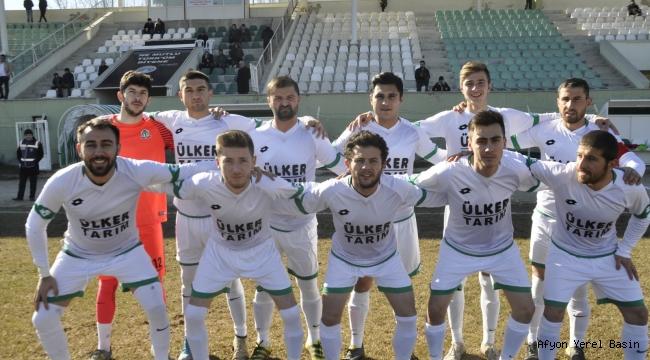 Şuhut Belediye Hisarspor Emirdağspor'u Deplasmanda Avladı