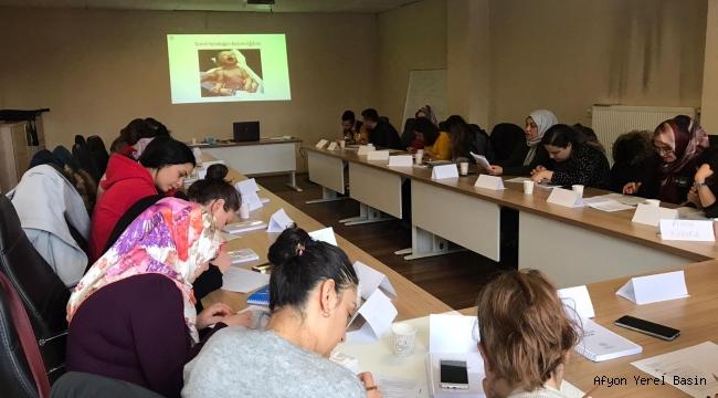 Yenidoğan Temel Bakım Eğitimi verilmeye devam ediyor..