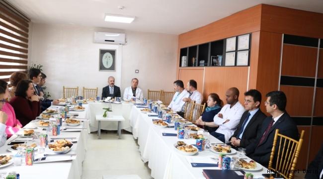 Acil Sağlık Hizmetleri Koordinasyon Toplantısı Yapıldı