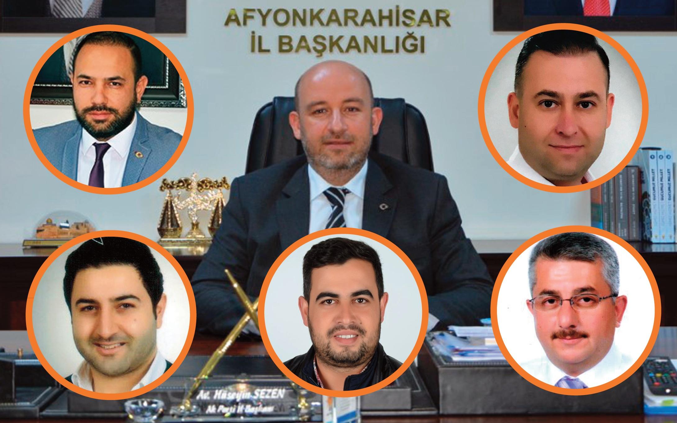 AK Parti'de birim başkanlıklarında görev değişimi..