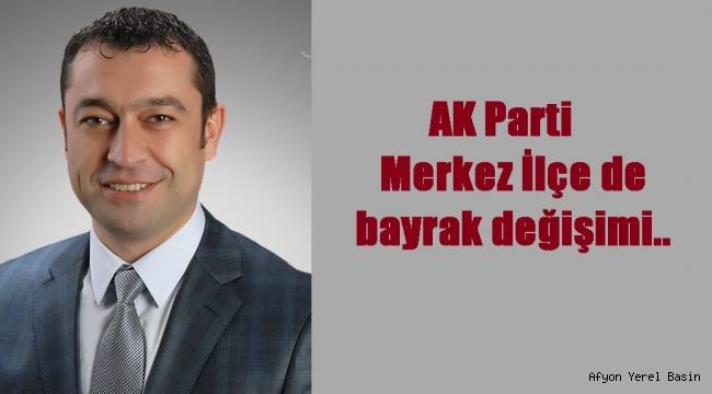 AK Parti Merkez İlçe de bayrak değişimi..