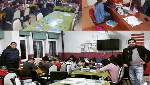 Atatürk YBO Öğretmenleri Öğrencileri Sınava Hazırlıyor