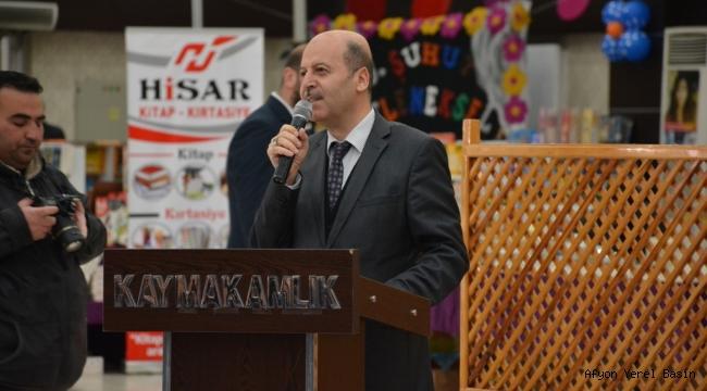 Başkan Bozkurt 3.Şuhut Kitap Fuarının Açılışına Katıldı