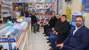 Başkan Bozkurt'dan Esnaf Ziyareti